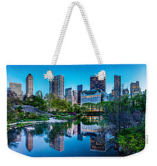 Weekender Tote Bag featuring the photograph Urban Oasis by Az Jackson