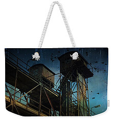 Weekender Tote Bag featuring the photograph Urban Past by Ivana Westin