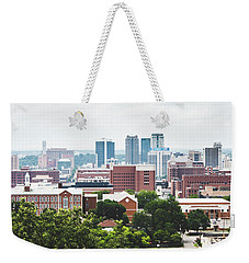 Weekender Tote Bag featuring the photograph Urban Scenes In Birmingham  by Shelby Young