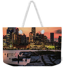 Urban Sunrise Weekender Tote Bag by Anthony Fields