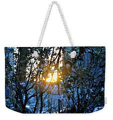 Urban Sunset Weekender Tote Bag by Sarah McKoy