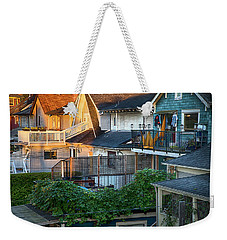 Urban Vancouver Weekender Tote Bag by Theresa Tahara