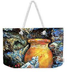 Urn Among The Rocks Weekender Tote Bag