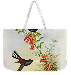 Urochroa Bougieri Weekender Tote Bag by John Gould