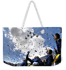 U.s. Air Force Academy Graduates Throw Weekender Tote Bag