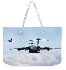 U.s. Air Force C-17 Globemasters Weekender Tote Bag
