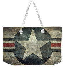 Us Air Force Roundel With Star Weekender Tote Bag