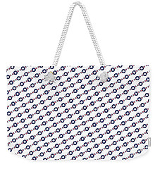 Us Airforce Style Insignia Pattern Diag Version Weekender Tote Bag