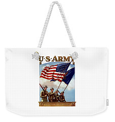 Us Army -- Guardian Of The Colors Weekender Tote Bag
