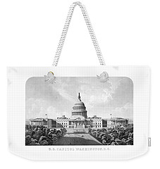 Us Capitol Building - Washington Dc Weekender Tote Bag