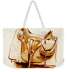 Us Cavalry Saddle 1869 Weekender Tote Bag