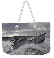 U.s. Coast Guard Motor Life Boat Brakes Weekender Tote Bag