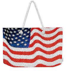 U.s. Flag Weekender Tote Bag