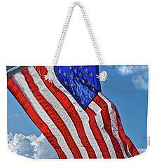 Us Flag,ocean Grove,nj Flag Weekender Tote Bag