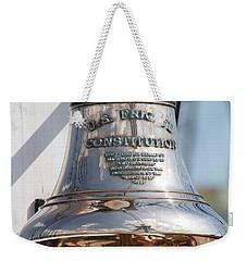 Us Frigate Bell Weekender Tote Bag by Caroline Stella
