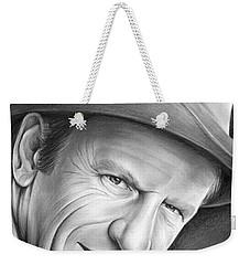 Gunsmoke's Matt Dillon Weekender Tote Bag