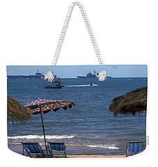 Us Navy Off Pattaya Weekender Tote Bag