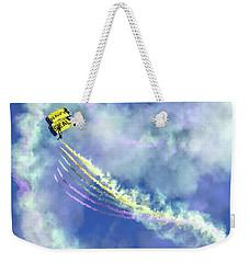 Us Navy Seals Colorful Parachute Jump Weekender Tote Bag