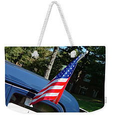 Weekender Tote Bag featuring the photograph U.s. Of A. by Nick Kirby