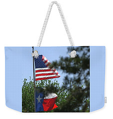 Usa Blesses Texas Weekender Tote Bag