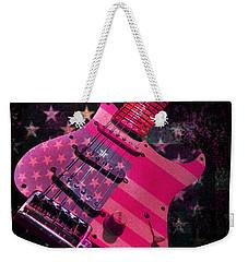 Usa Pink Strat Guitar Music Weekender Tote Bag