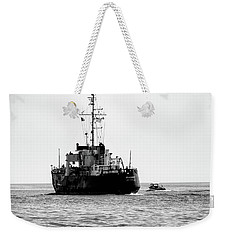 White Portugeuse Weekender Tote Bag