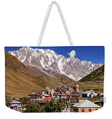 Ushguli And  Shkhara Mount Weekender Tote Bag