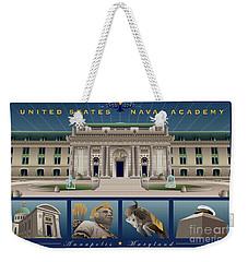 Usna Monuments Tribute 2 Weekender Tote Bag