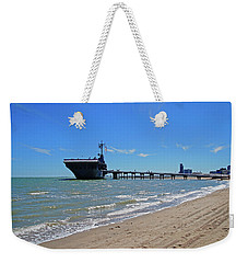 Uss Lexington Weekender Tote Bag by Mike Murdock
