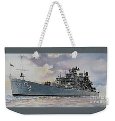 Uss Little Rock Weekender Tote Bag