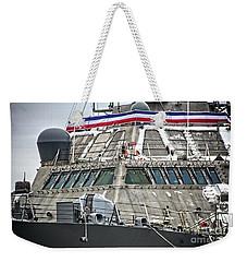 Uss Little Rock Lcs 9 Weekender Tote Bag