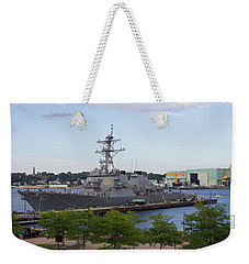 Uss Ramage In New London Weekender Tote Bag