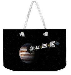 Uss Savannah Approaching Jupiter Weekender Tote Bag