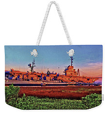 Uss York Town Weekender Tote Bag