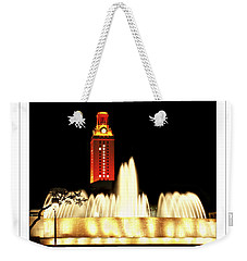 Ut Tower Poster Weekender Tote Bag by Marilyn Hunt
