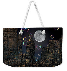Utah Bubble Moon Weekender Tote Bag