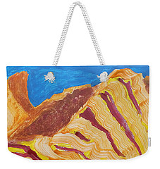 Weekender Tote Bag featuring the painting Utah  Canyons by Don Koester