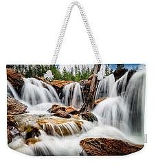 Utah Waterfall Weekender Tote Bag