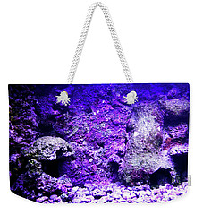 Weekender Tote Bag featuring the photograph Uw Coral Stone 2 by Francesca Mackenney