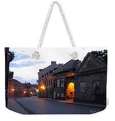 Uzupis Street. Old Vilnius. Lithuania. Weekender Tote Bag by Ausra Huntington nee Paulauskaite