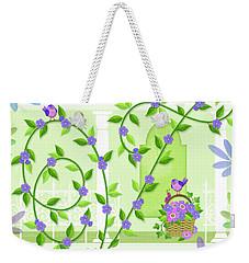 V Is For Vine And Veranda Weekender Tote Bag