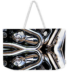 V-rod Reflected Weekender Tote Bag