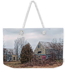 Weekender Tote Bag featuring the photograph Vacant Pleasure by Richard Bean