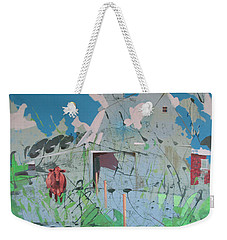 Vacant Vaca Barn Weekender Tote Bag
