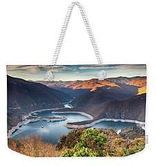 Vacha Lake Weekender Tote Bag