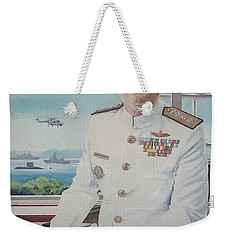 Vadm Robert Claude Simpson-anderson Weekender Tote Bag