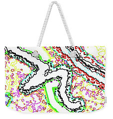Vaguely Aware Weekender Tote Bag by Yshua The Painter
