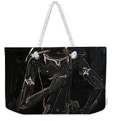 Weekender Tote Bag featuring the digital art Vajrasattva by Rabi Khan
