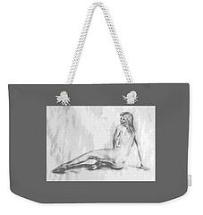 Valentina... Weekender Tote Bag by Edgar Torres