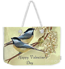 Valentine Day Vintage Postcard Weekender Tote Bag
